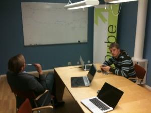 Första mötet om Be Better Online med Max Wimnell och Marcus Haglid